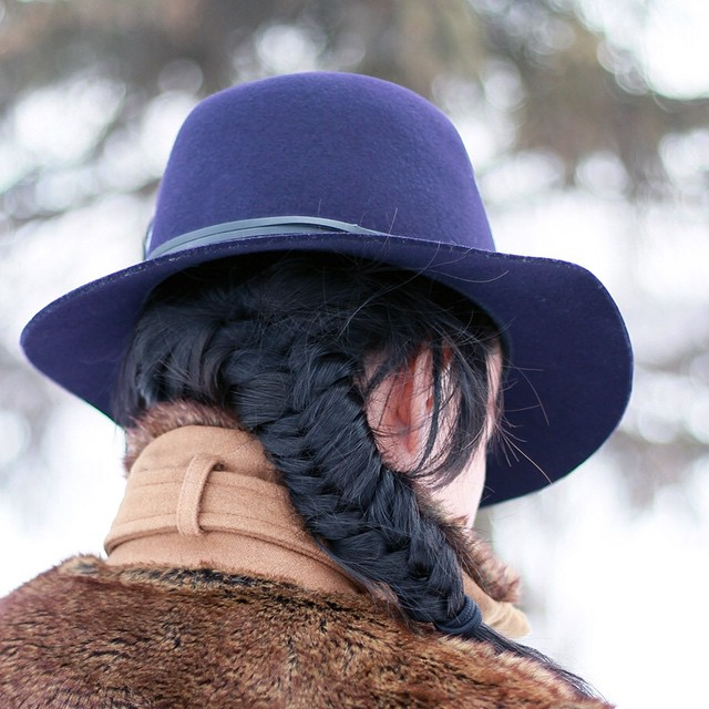 Fishtail braids go with fedoras just like peanut butter goes…
