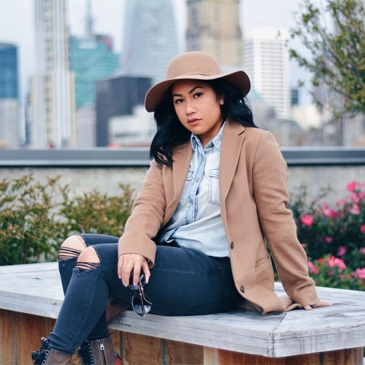 Camel coat is a must have staple for every closethellip