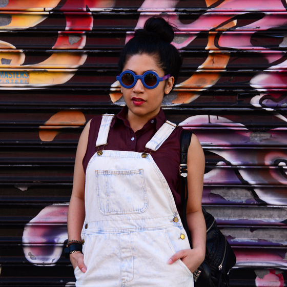 American Apparel Denim Shortalls