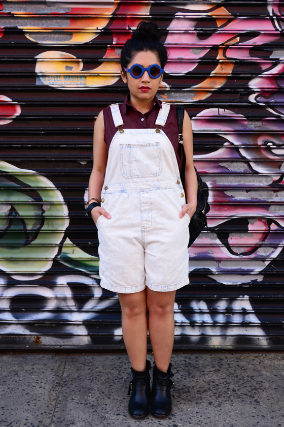 American Apparel Denim Short-alls