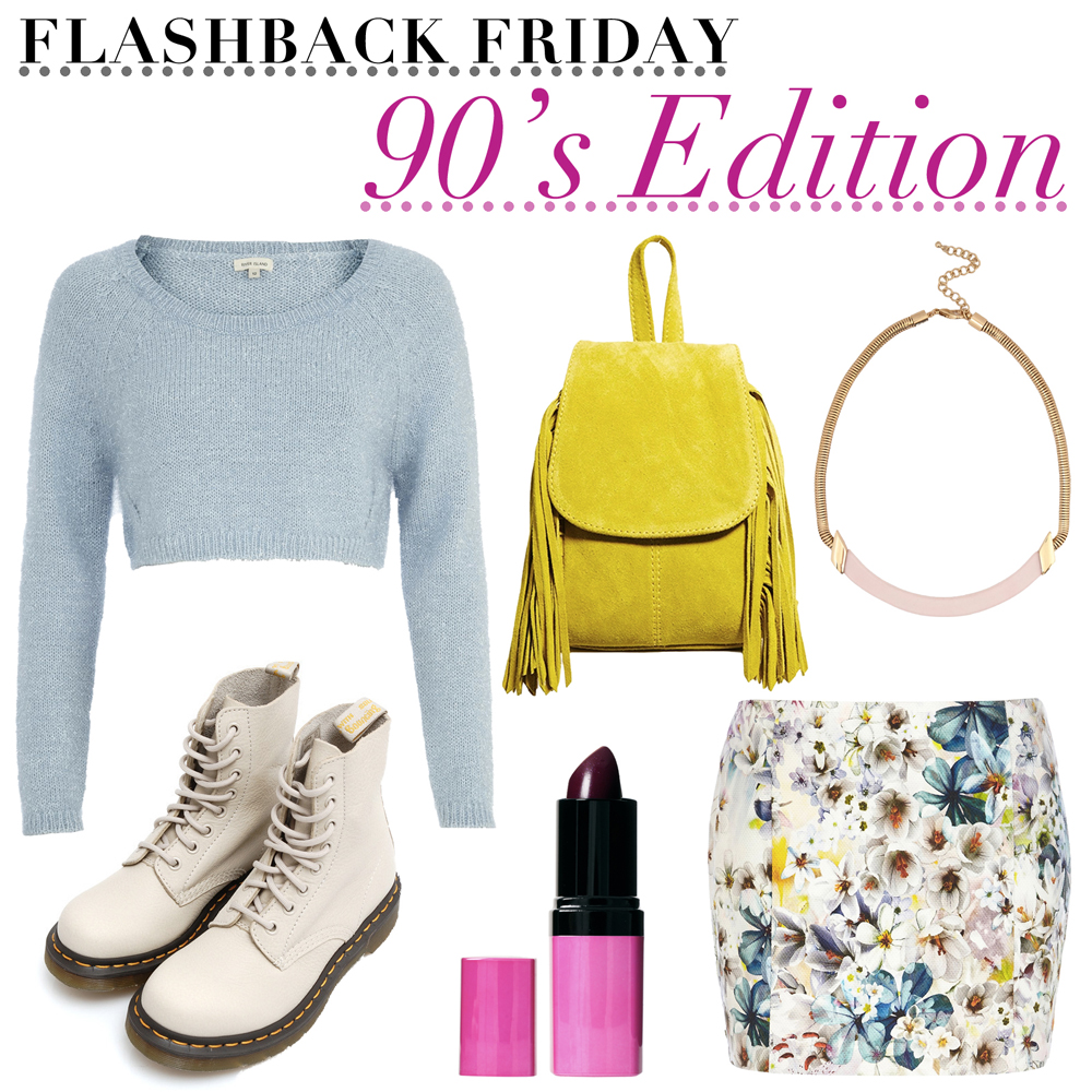 Flashback Friday 90s Outfit