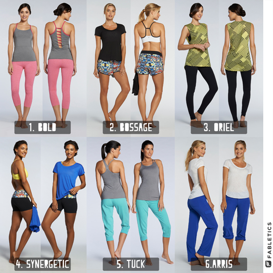 Fabletics Workout Outfit Giveaway