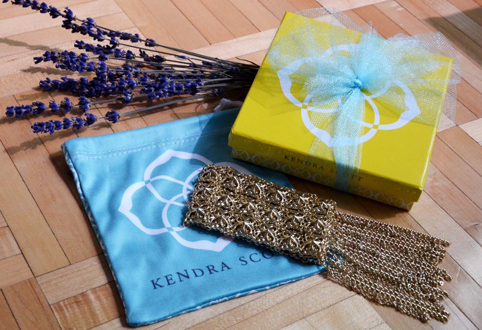 Kendra Scott Ivy 14k Gold-Plated Cuff Bracelet
