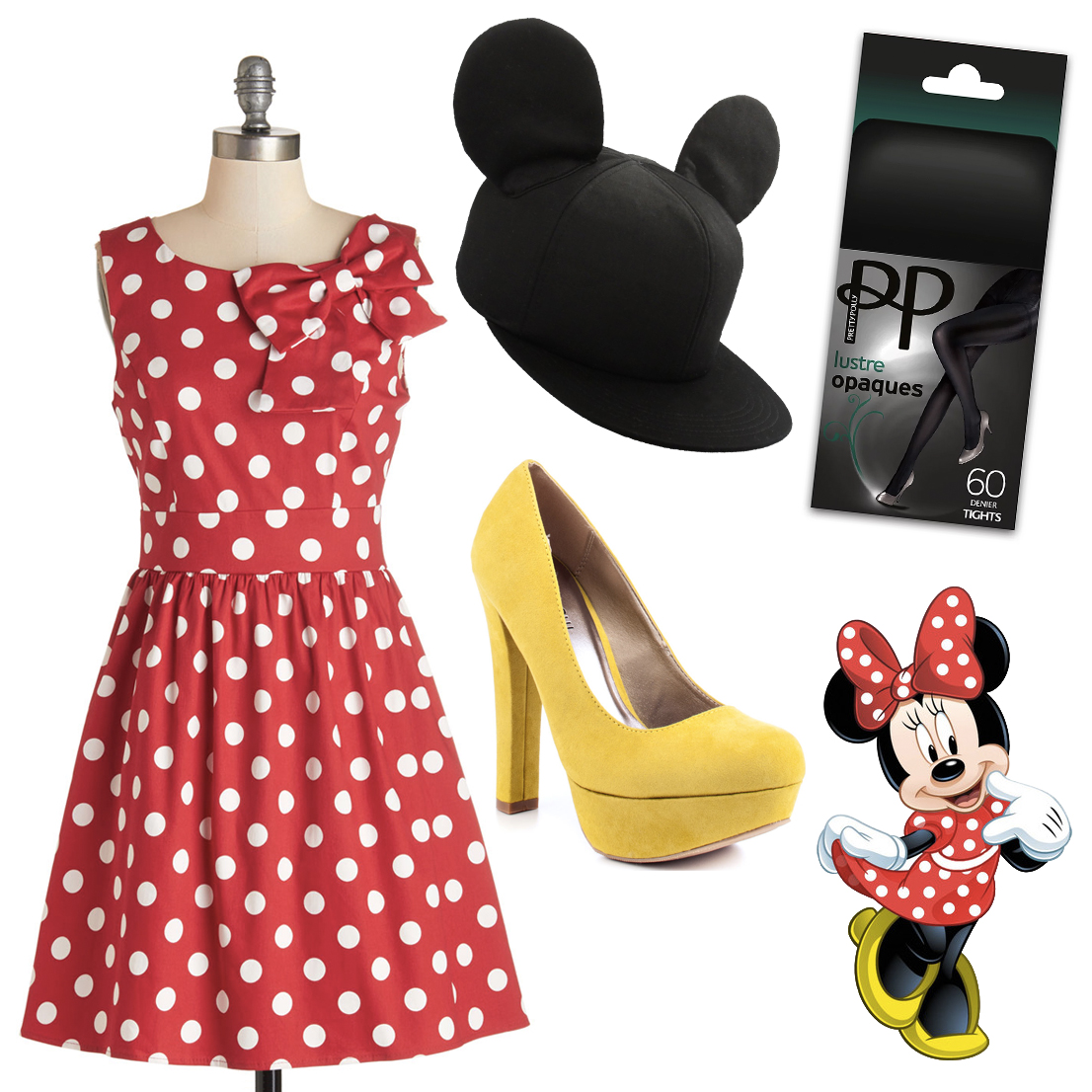 minne mouse halloween costume