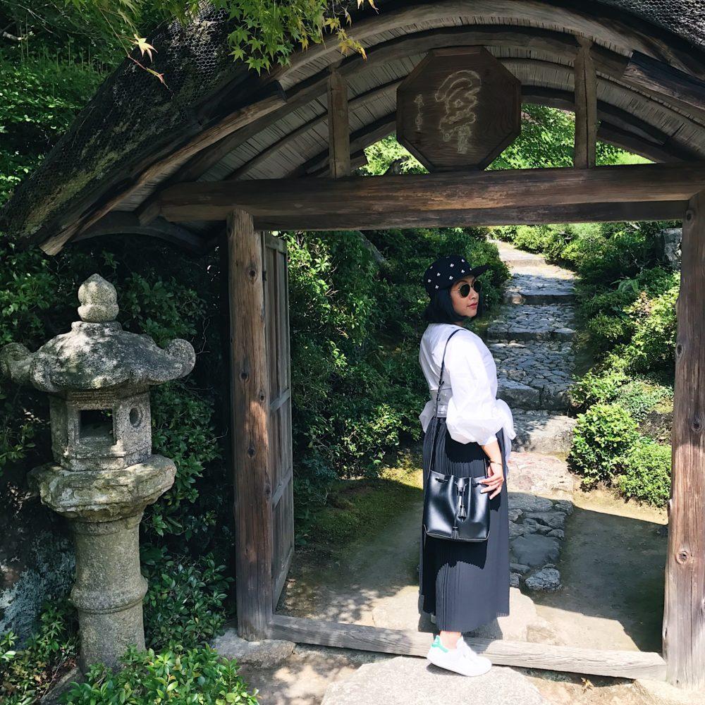Entrance to Okochi Sanso (大河内山荘)