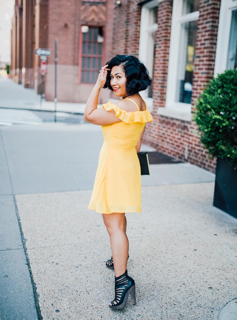 ModCloth Collectif Signature Sass Mini Dress