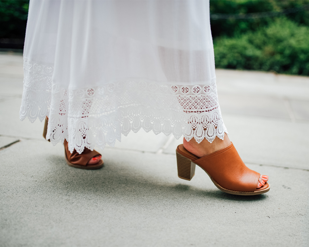 Old Navy faux-leather open-toe mules