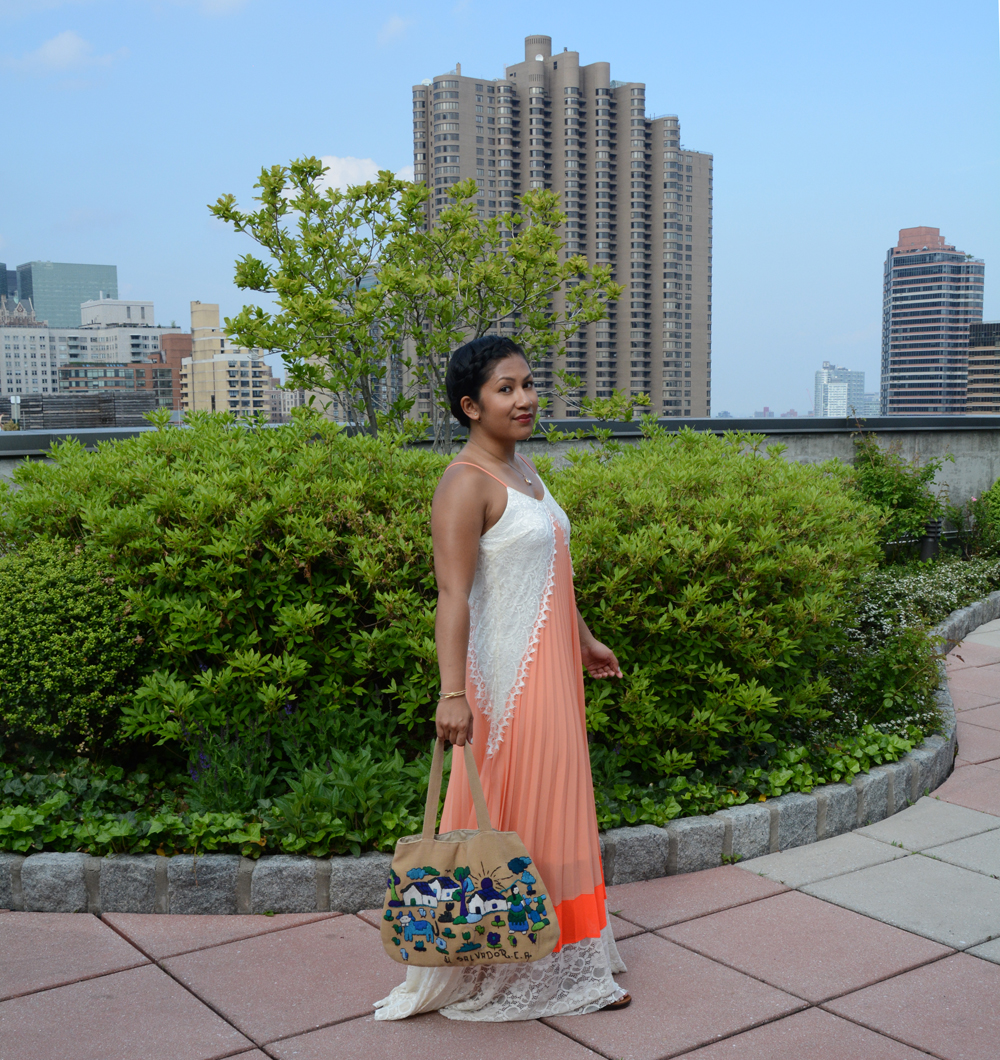Poetry in Motion Maxi Dress