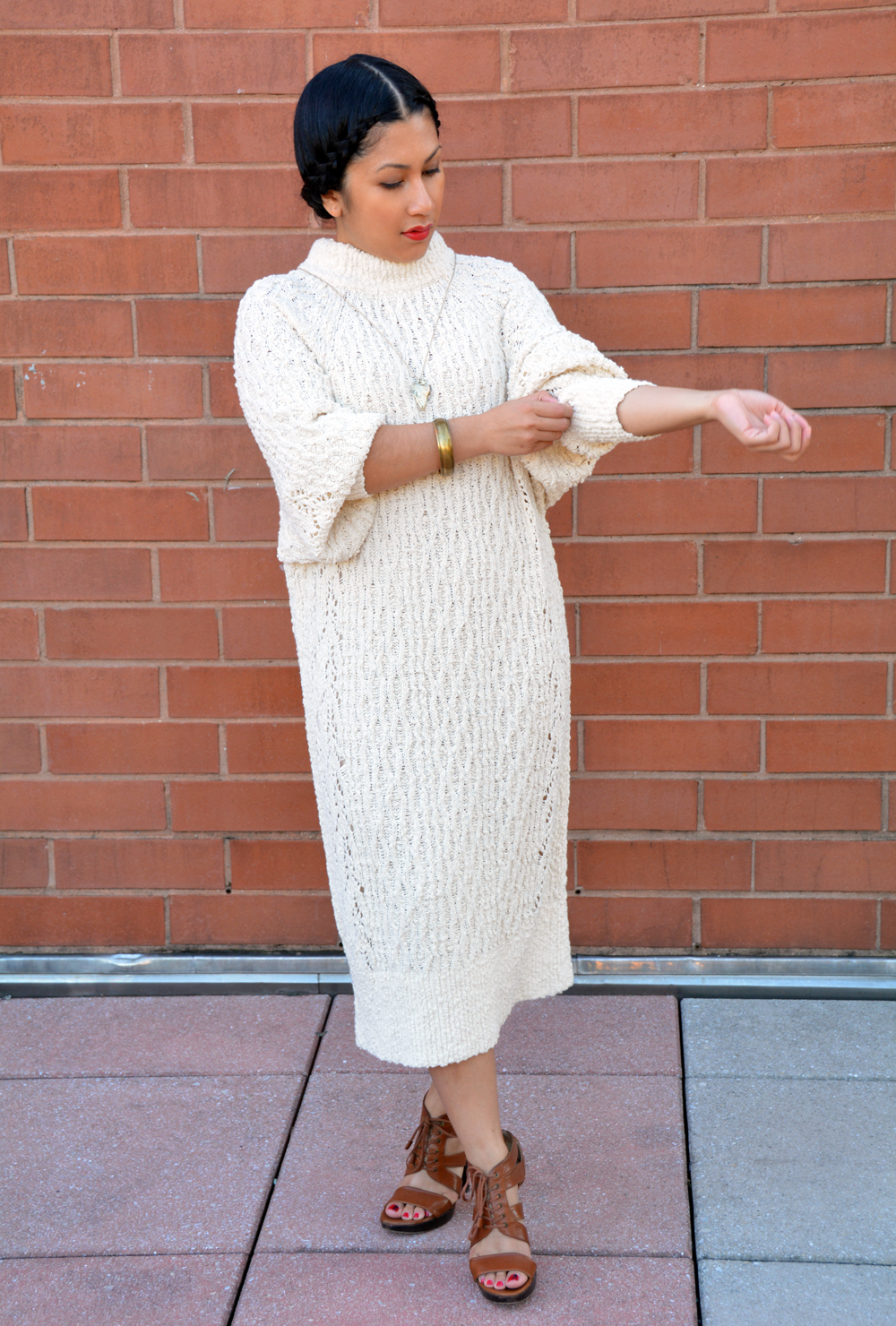 H&M sweater dress