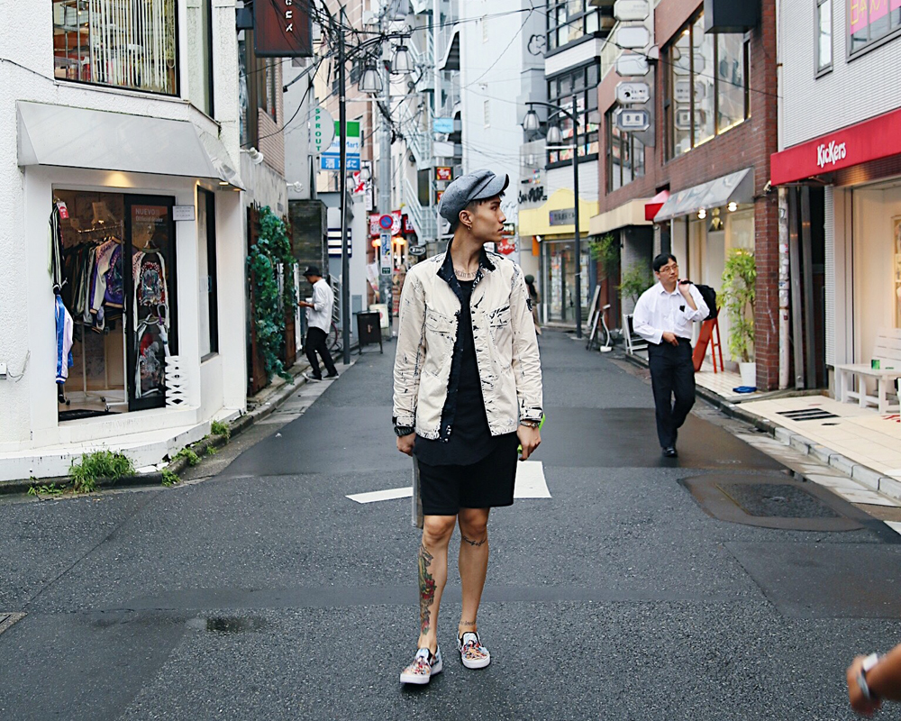 One of the cool people of Harajuku