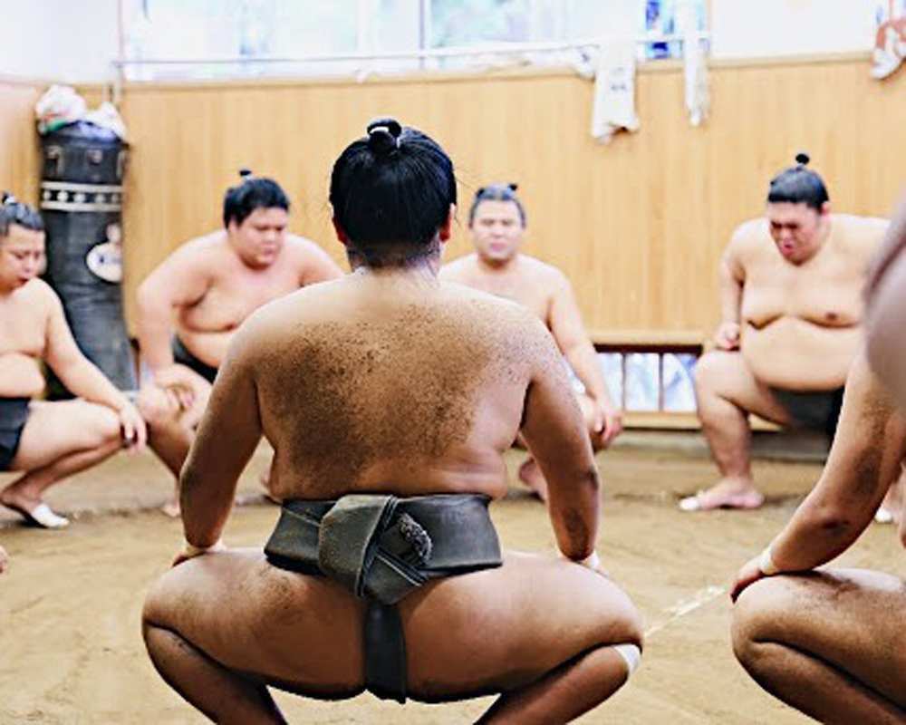 Ooooo so that's why they call it a sumo squat