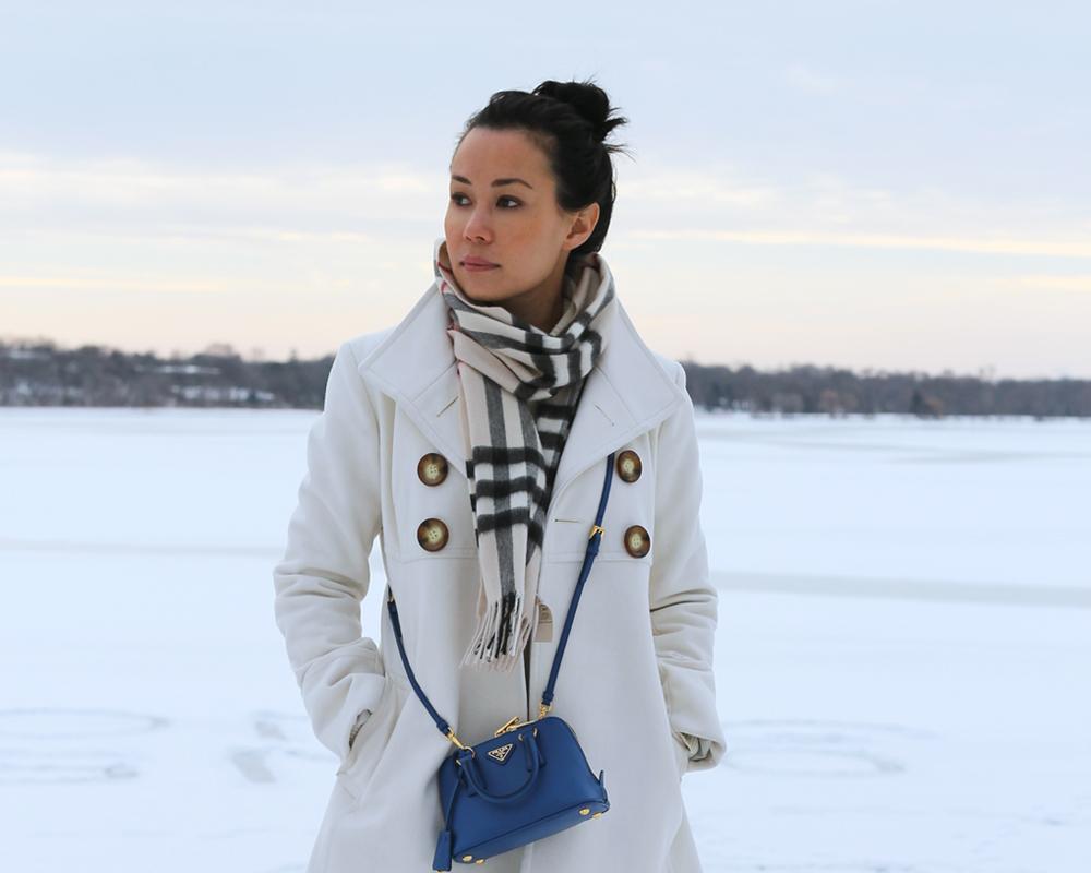 prada saffiano crossbody wallet - Winter White | Mimi \u0026amp; Chichi Blog